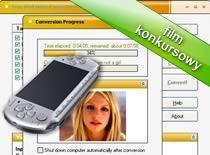 Jak skonwertować i wgrać filmik na PSP