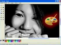 Jak narysować dziewczynę w programie Paint