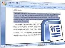 Jak wywołać ślepy tekst w programie Microsoft Word