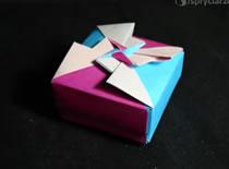 Jak zrobić ozdobne pudełko z wieczkiem na prezent