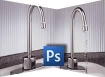 Jak dodać strumień wody na zdjęciu