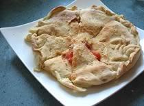 Jak zrobić włoskie pieczywo - Focaccia z anchois i pomidorami