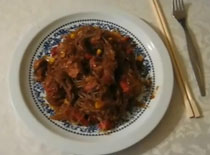 Jak zrobić makaron chiński z warzywami