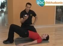 Jak schudnąć - ćwiczenie #8 Mięśnie pośladkowe i dwugłowe ud