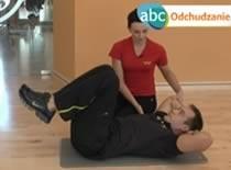 Jak schudnąć - ćwiczenie #6 Dolny odcinek mięśni brzucha