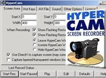 Jak nagrywać programem HyperCam 2
