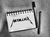 Jak narysować logo zespołu Metallica