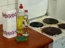 Jak wyczyścić brudną kuchenkę