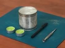 Jak wykonać lampion z puszki aluminiowej
