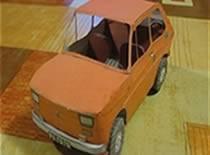 Jak złożyć papierowy model malucha