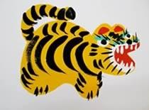 Jak namalować tygrysa - malowanie farbami
