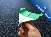 Jak zrobić naziemny samolot z papieru