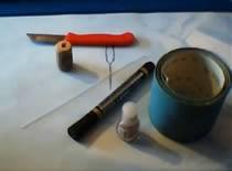 Jak zrobić spławik przelotowy #1