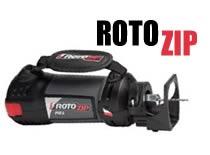 Jak posługiwać się narzędziem RotoZip - osprzęt, końcówki i dodatki