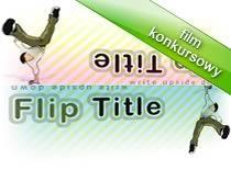 Jak pisać odwróconym tekstem - FlipTitle