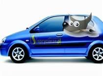 Jak umieścić obrazek na samochodzie - fotomontaż w Gimpie