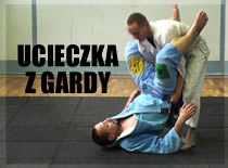 Jak uciekać z gardy w brazylijskim jiu-jitsu