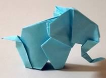 Jak zrobić słonia z kartki papieru