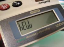 Jak wpisywać słowa na kalkulatorze cz. 2