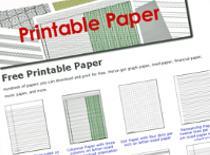 Jak stworzyć i wydrukować kartki w różne linie i kratki