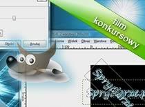 Jak zrobić animowany awatar z tekstu w Gimpie