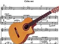 Jak zagrać kolędę Cicha Noc na gitarze
