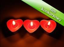 Jak zrobić prezent na walentynki - świeczka w kształcie serca