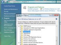 Jak włączyć funkcję Telnet w Windowsie Vista