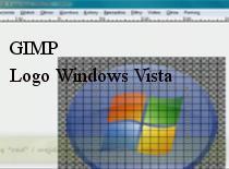 Jak zrobić logo Windows Vista w Gimpie