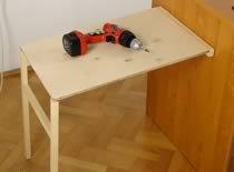 Jak zrobić składany stolik