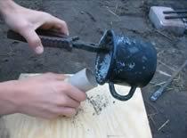 Jak zrobić świecę dymną z parafiną