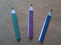 Jak zrobić ołówek z papieru