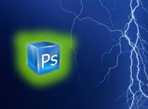 Jak zrobić napis z piorunami w Photoshopie