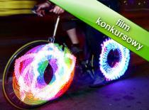 Jak zrobić neon na koło rowerowe - 2 sposób