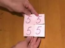 Jak zrobić papierową zabawkę z liczbami
