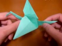 Jak zrobić ptaka origami z trzepoczącymi skrzydłami