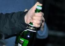 Jak otworzyć butelkę szampana za pomocą szabli