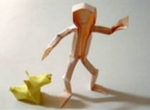 Jak zrobić człowieka origami