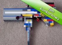 Jak zrobić pistolet z klocków Lego z dolnym naciągiem