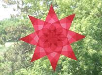 Jak zrobić gwiazdę 8-ramienną