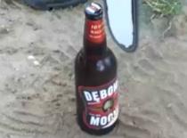 Jak otworzyć piwo piłą łańcuchową