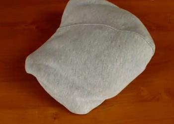 Jak zrobić poduszkę z bluzy