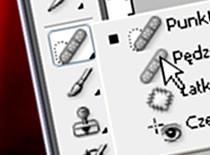 """Jak korzystać z narzędzia """"pędzel korygujący"""" - Photoshop CS3"""