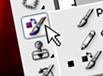 """Jak używać narzędzi """"pędzel"""" i """"ołówek"""" - Photoshop CS3"""