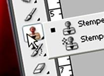 """Jak korzystać z narzędzia """"stempel"""" - Photoshop CS3"""