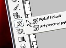 """Jak korzystać z narzędzia """"pędzel historii"""" - Photoshop CS3"""