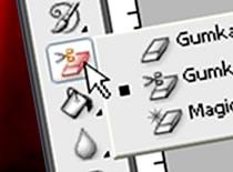 """Jak korzystać z narzędzia """"gumka"""" - Photoshop CS3"""