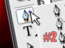 """Jak korzystać z narzędzia """"pióro"""" #2 - Photoshop CS3"""