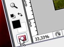 Jak korzystać z trybu szybkiej maski w Photoshop CS3