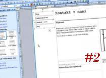 Jak zrobić stronę www w Microsoft Publisher #2